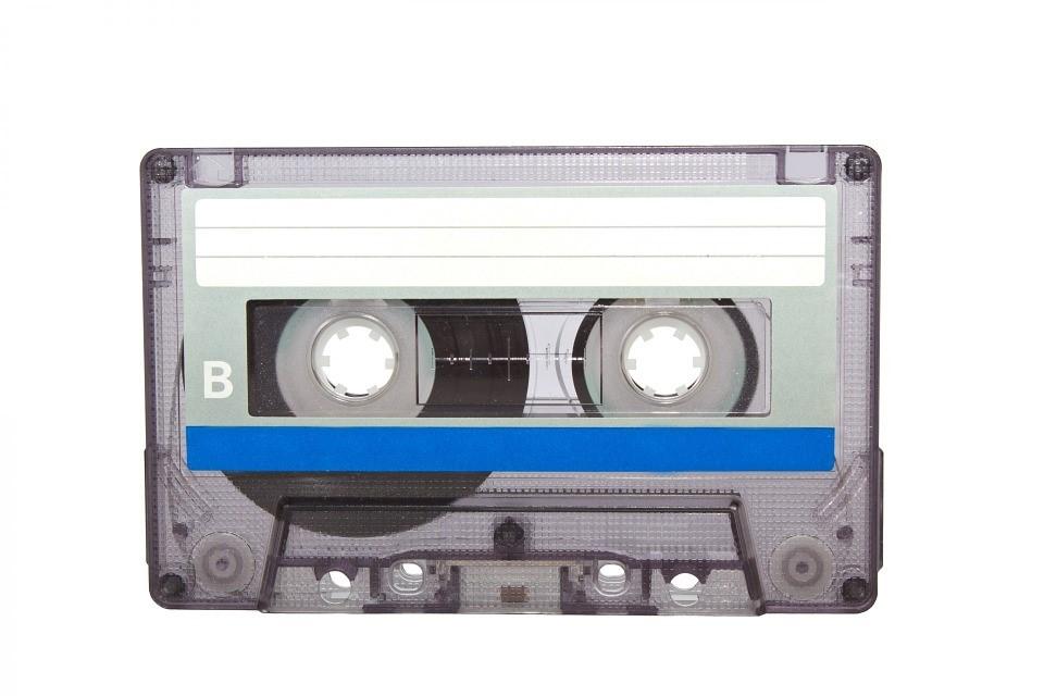 a tape cassette