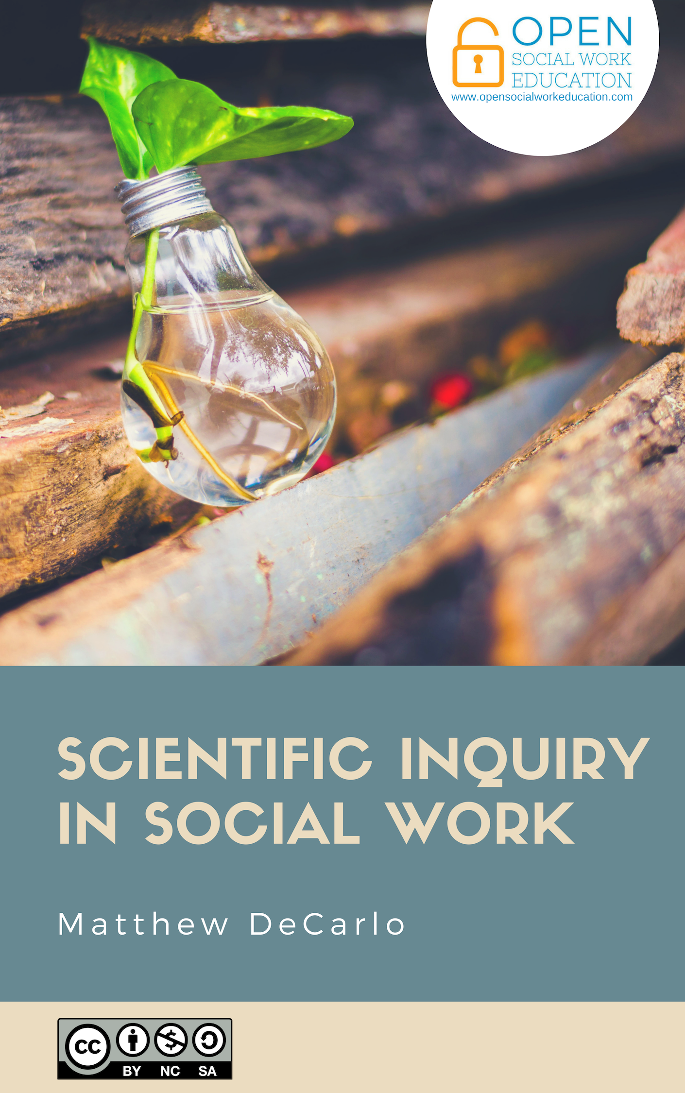Cover image for Scientific Inquiry in Social Work
