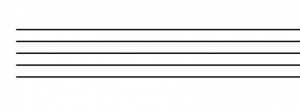 Five horizontal lines spaced evenly.