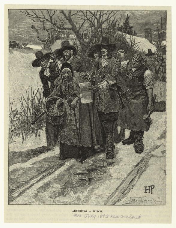 Arresting A Witch