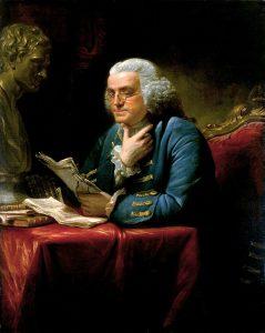 Benjamin Franklin 1767