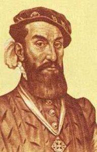 Portrait of Cabeza de Vaca