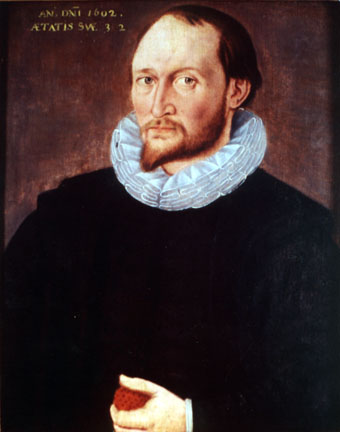 Portrait Believed to Be of Thomas Harriot