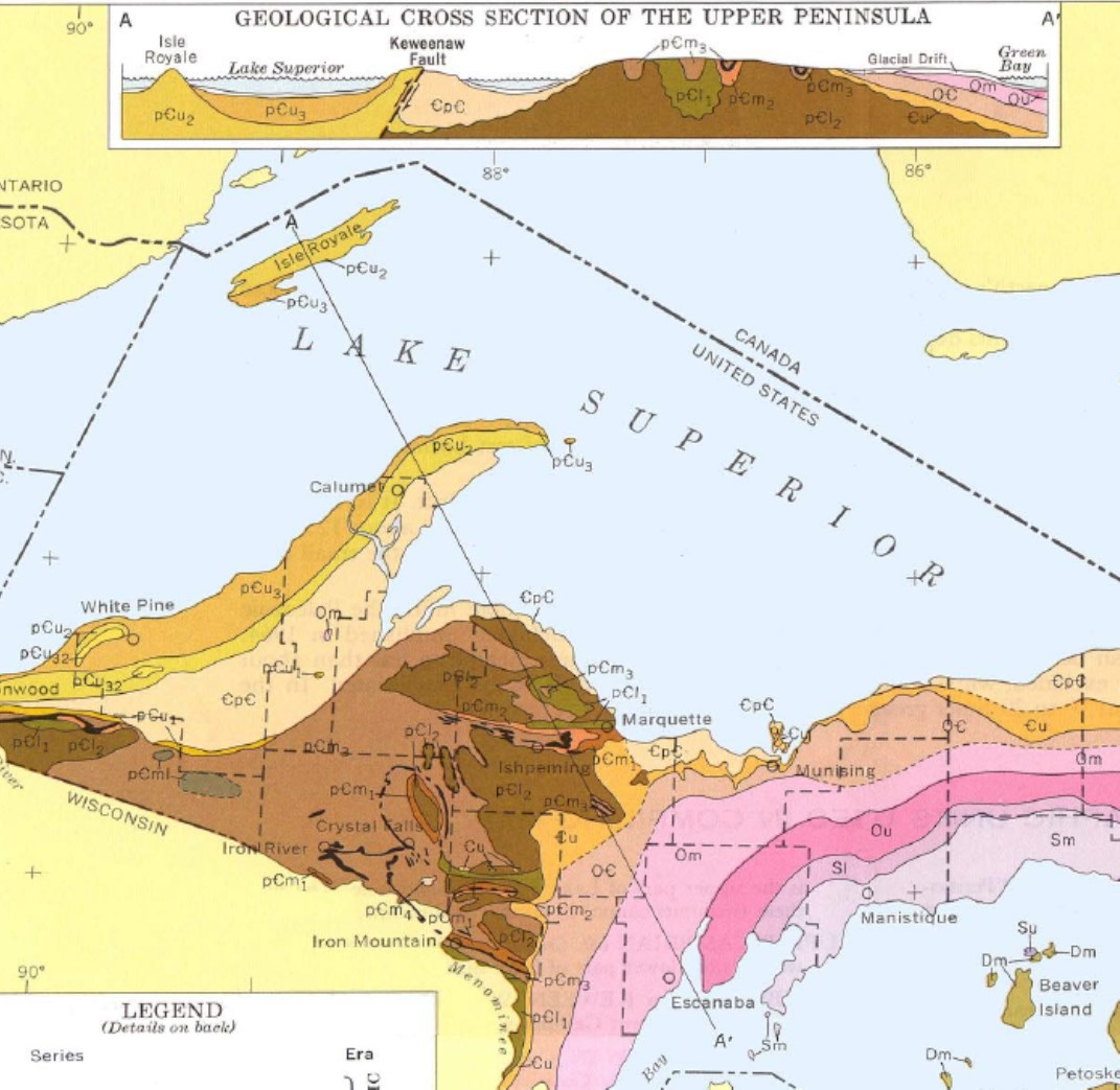 Reading a Geologic Map - Physical Geology Laboratory